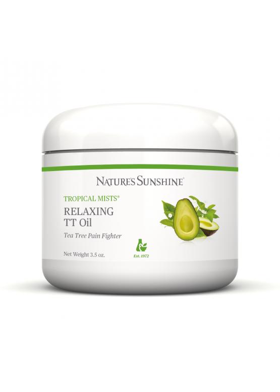 Обезболивающее и расслабляющее масло  Relaxing TT Oil